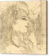 Anna Held Canvas Print