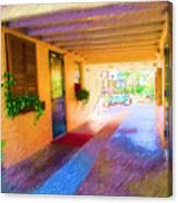 Anna Maria Elementary Office Hallway C130662 Canvas Print