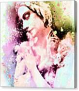 Anna Pavlova Whimsical Ballerina Canvas Print