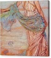 Annabel Lee James Abbott Mcneill Whistler Canvas Print