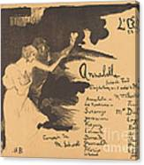 Annabella ('tis Pity She's A Whore) Canvas Print