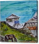 Annapurna Trekking Base Camp Canvas Print