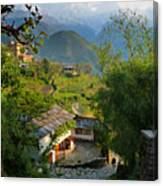 Annapurna Village Canvas Print