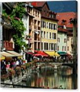 Annecy Medieval Town Canvas Print