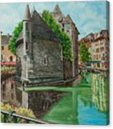 Annecy-the Venice Of France Canvas Print