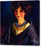 Annie Geg 1925 Canvas Print