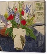 Anniversary Bouquet Canvas Print