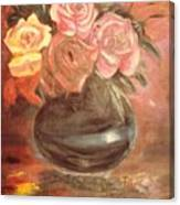 Anniversary Flowers Canvas Print