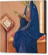 Annunciation Fragment 1311 Canvas Print