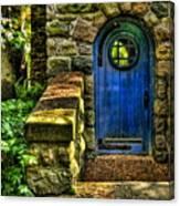Another Blue Door Canvas Print