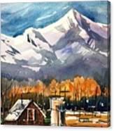 Another Colorado Barn Canvas Print