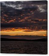 Another Colourful Sunrise Canvas Print
