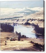 Another Flathead River Image Canvas Print