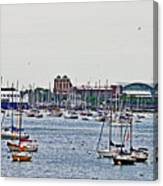 Another Harbor View Canvas Print