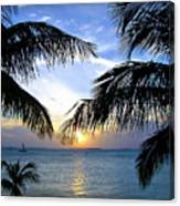 Another Key West Sunset Canvas Print