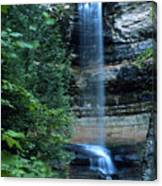 Another Munsing Waterfall Canvas Print