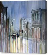 Another Rainy Night Canvas Print