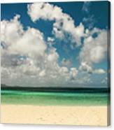 Anguilla - Another Spectacular Beach  Canvas Print