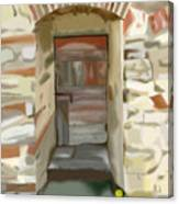 Another Tuscan Door Canvas Print