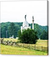 Another View Of The Pa Monument Canvas Print