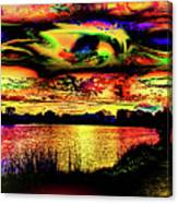 Another Wicked Sunset Canvas Print