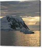 Antarctic Coast Canvas Print
