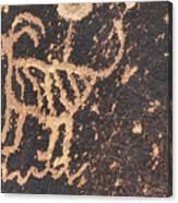 Antelope Petroglyph Canvas Print