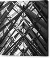 Anthony Skylights Grayscale Canvas Print