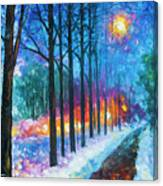 Anticipation Of Spring  Canvas Print