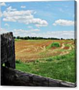 Antietam Farm Fence 2 Canvas Print