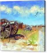 Antietam Under Blue Skies  Canvas Print