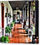 Antigua Hall Canvas Print