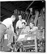 Antineutron Discovery Team, 1956 Canvas Print
