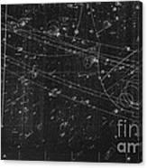 Antiproton Annihilation, Bubble Chamber Canvas Print