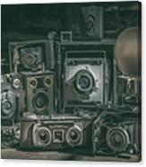 Antique Camera Canvas Print