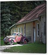 Antique Car Canvas Print