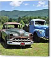 Antique Cars  Canvas Print