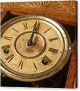 Antique Clock 2 Canvas Print
