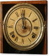 Antique Clock 3 Canvas Print