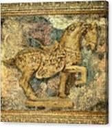 Antique Equine 2 Canvas Print