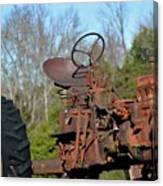 Antique Farmall Tractor 4a Canvas Print