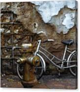 Antique Fire Hydrant 2 Canvas Print