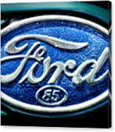 Antique Ford Badge Canvas Print