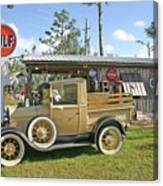 Antique Ford Truck Canvas Print
