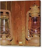 Antique Lamps Canvas Print