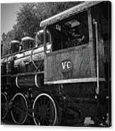 Antique Loco Canvas Print