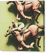 Antique Race Canvas Print