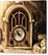 Antique Radio Canvas Print