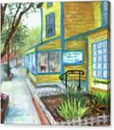 Antique Row In Kensington Md Canvas Print