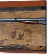 Antique Shotgun Canvas Print